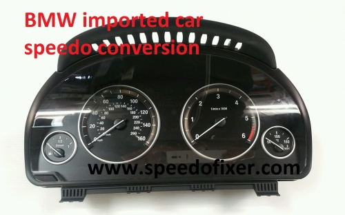 bmw 5 series speedo conversion services