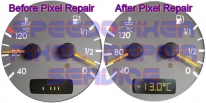 Mercedes W208 w210 speedo pixel repairs london